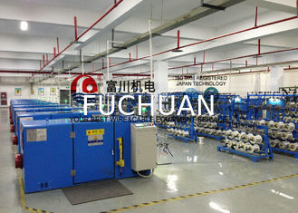 China Ultra Fine Cellphone Copper Wire Twister Machine With Electromagnetic Brake supplier