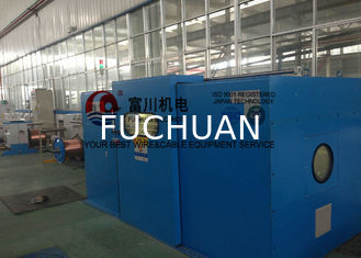 China Tinned Wire Double Twist Bunching Machine / Twisting Machinery for Conductor supplier