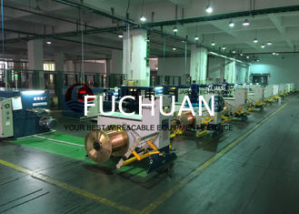 China Sky Blue Copper Cable Twisting Machine , Double Twist Bunching Machinery supplier
