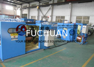 China 0.41 / 0.52 / 0.64mm Copper Wire Bunching Machine With Electromagnetic Brake supplier
