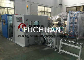 China Fuchuan Cable Manufacturing Equipment For Above 7 Pcs Wires Bunching 18.5Kw supplier