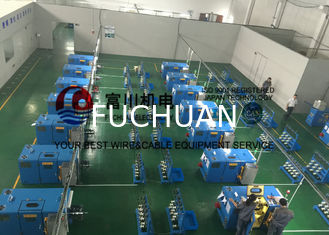 China Passive / Active Pay Off Copper Wire Bunching Machine For 0.08mm - 0.45mm Copper Wire supplier