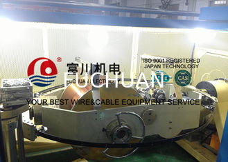 China 1+6+12 Conductors Wire Bunching Machine For Bunching 19 Pcs Wires Energy Saving supplier