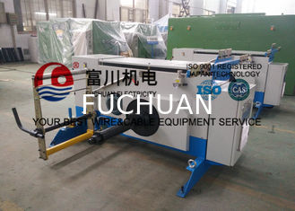 China 630 Active Double Shaft Pay Off Machine For Double Twist Buncher 1.5kw Sky Blue supplier