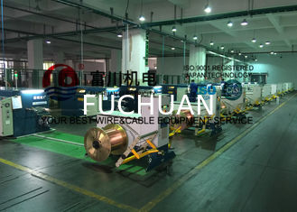 China FUCHUAN Touch Screen Double Twist Bunching Machine / Buncher with Pitch 6.3-52.3 supplier