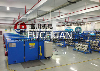 China Silver Jacketed Copper Wire Processing Equipment With Electromagnetic Brake supplier