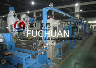 China Automobile Wire / Plastic Insulating Wire Extrusion Machine With Screw Dia 60mm supplier