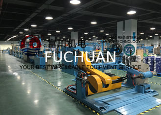 China Single Wire Dia 6 - 25mm Cable Stranding Machine 200 M / Min Horizontal Accumulator supplier