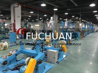 China FC PVC Plastic Extrusion Machine For Wire Dia 1.5-12mm With Extrusion Output 180kg/h supplier