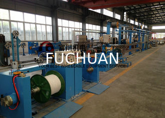 China Plastic Wire Extruder Machine For Electric Wire Insulated Sheathing  Wire Dia 5.0-20mm supplier