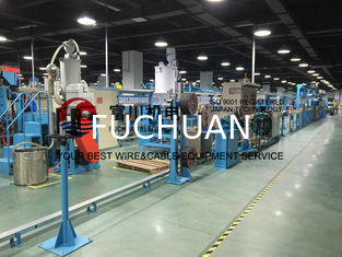 China Fuchuan PVC Extrusion Machine For Power Cable Wire Dia 6-25mm With Screw 90mm supplier