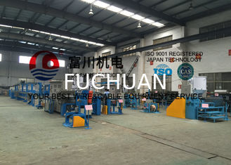 China Fuchuan PP Plastic Extrusion Line Mainly For Automatic Wire Insulated and Sheathing supplier