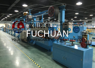 China Fuchuan PVC Extrusion Machine , Wire Insulated And Sheathed Production Line supplier