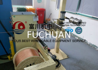 China FC Cable Extrusion Machine , FEP FPA ETFE Plastic Extrusion Line With Screw Dia 35mm supplier