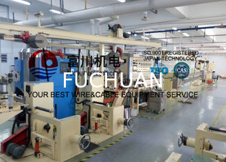 China China Fuchuan F46 / FEP Plastic Extrusion Machinery , High temperature Extruder Line supplier