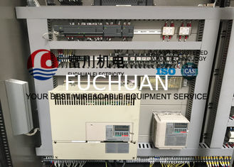 China Cable Extrusion Machine For F40 Plastic Extruding With Finished Sheathed Dia 6-16mm supplier