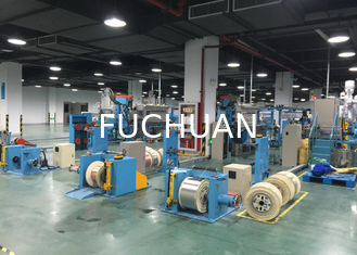 China Plastic Extruder Machine For BV Building Cable With 70 Extruder Main Machine 45 Injection supplier