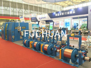 China 22kw Double Twist Bunching Machine For Core Wire , Normal Double Twist Buncher supplier