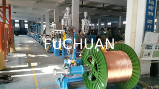 China FC-70+45 Automotive  Wire Screw Extruder Machine 500M/min for 1-6 square meter supplier