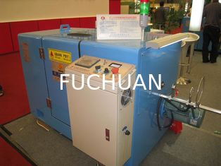 China High Accuracy Cable Bunching Machine / Touch Screen Cable Extrusion Line supplier