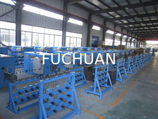 China Eco Friendly Copper Wire Bunching Machine ZL104 Aluminum Plate 2.2KW AC Motor supplier