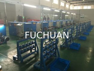 China Belt Drive Wire Twister Machine / Wire Extrusion Machine Easy To Operate supplier