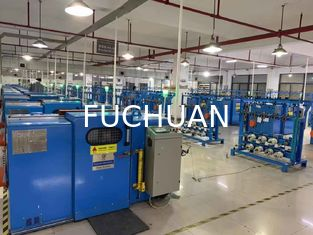 China High Precision Copper Wire Bunching Machine With Low Carbon Steel Body supplier