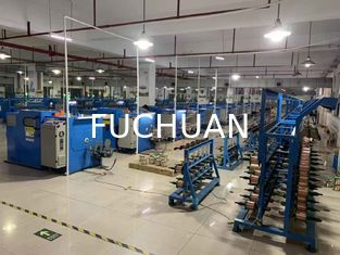 China Good Stability Wire Binding Machine , Automatic Double Twist Buncher supplier