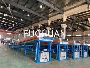 Electric Copper Cable Coiling Machine , Automated Copper Wire Tinning Machine