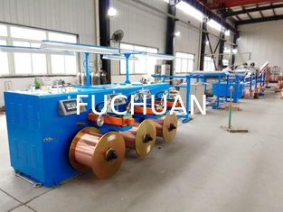 Touch Screen Operation Copper Wire Tinning Machine / Induction Annealing Machine
