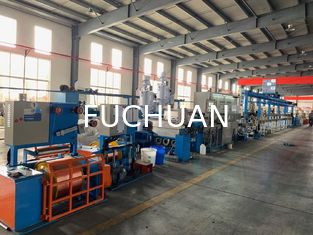 China High Power Wire Extruder Machine For LAN Cable 2 Φ2.5-3.0mm Diameter supplier