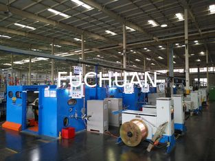 FUCHUAN Copper Wire Twist Machine For Enamelled Wire / Bare Copper Wire