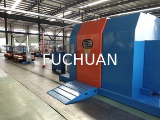 Noiseless Cable Laying Equipment / Single Twist Machine For PE / PVC Core Wire