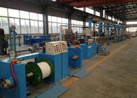 China Sky Blue Plastic Extrusion Line , electrical wire making machine 500Rpm Max Speed factory