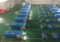 China Sky Blue Copper Wire Twisting Machine , Touch Screen Operation factory