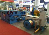 China Medical Equipment Copper Wire Twisting Machine Double Head Sky Blue 5.5kw factory