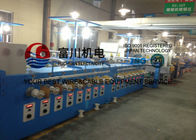 China 24Pcs Alloy Wire Annealing / Cable Coiling Machine For Single Wire Dia 0.04 - 0.127mm factory