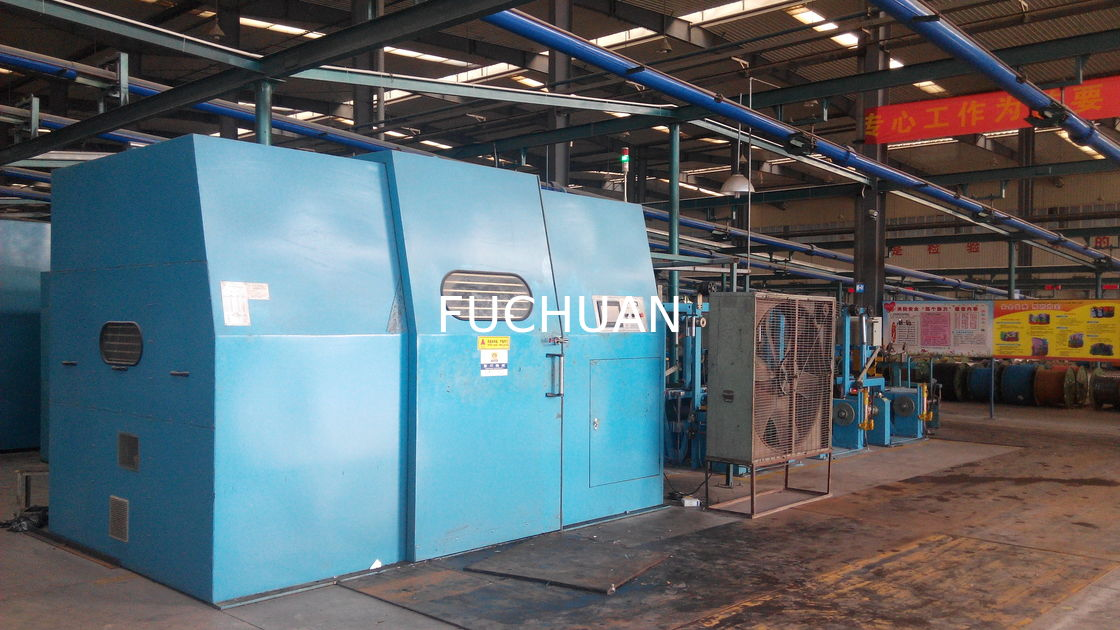 400 Tube Silver Jacketed Copper Wire Twisting Machine 30Kw Low Noise