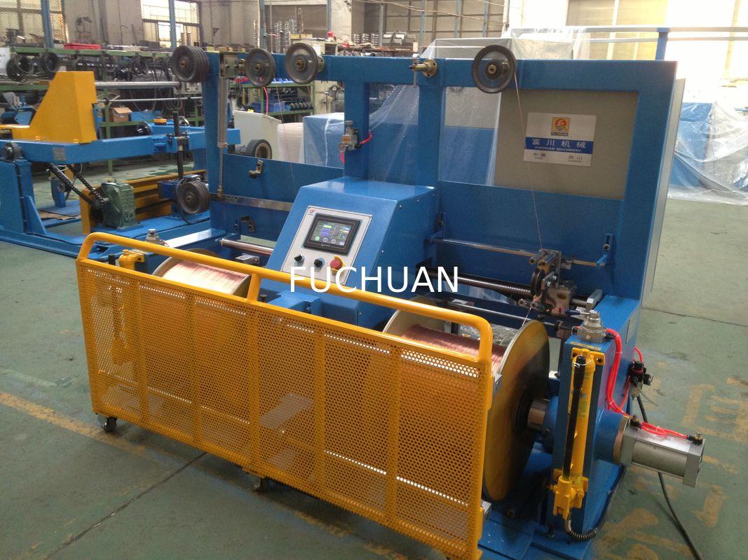 630 Bobbin Core Wire Bunching Machine / Copper Wire Rewinding Machine