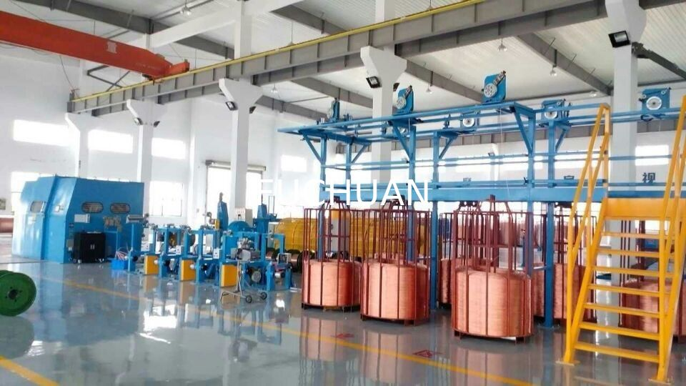 20Kgf Bare Copper Wire Bunching Machine Diameter 1250mm Bobbin