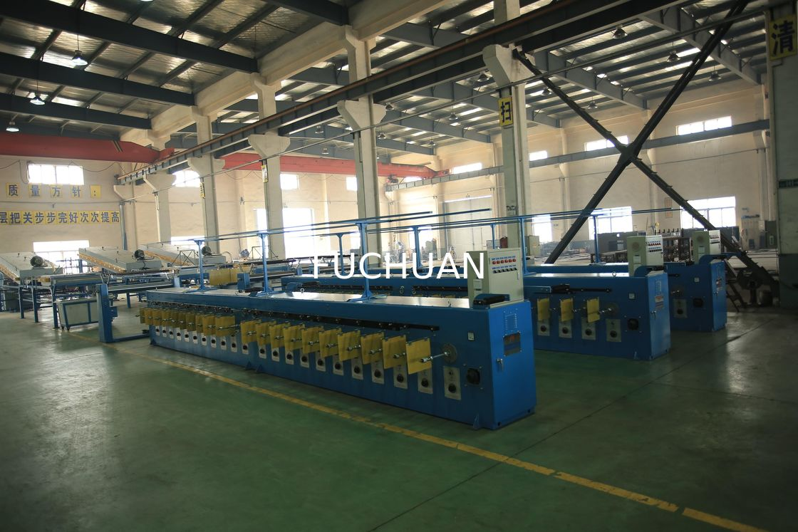 Copper Tinned Wire Tube Annealing Machine 40pcs Energy Saving Wiring Harness Production