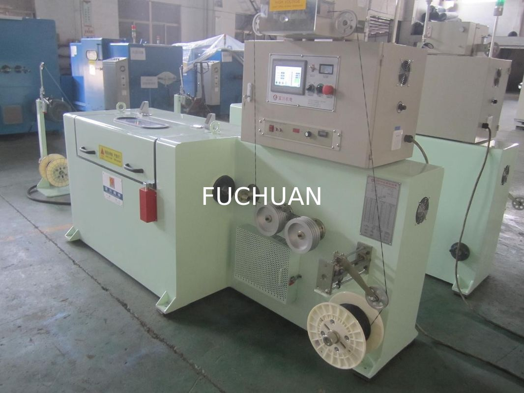 2500rpm Bare Copper Wire Twisting Machine 37kw For High Frequency China Electric Electrical Wires Data Cable