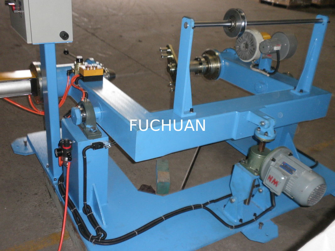 Sky Blue Insulated Flexible Wire Extruder Machine For Optical ...