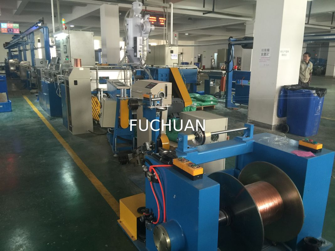 High Speed Automobile Wire Extrusion Machine 60Kg / H Extrusion Output