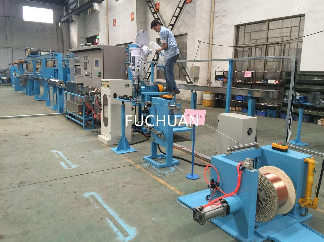 FEP FPA ETFE Wire Extruder Machine 500rpm Fluorine Plastics Insulating