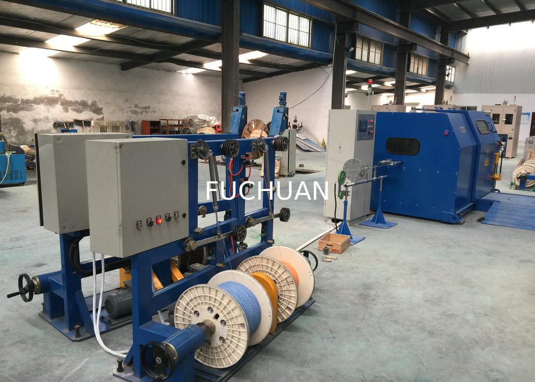 Fuchuan Copper Core Wire Single Twist Machine 30MM - 200MM Cable ...