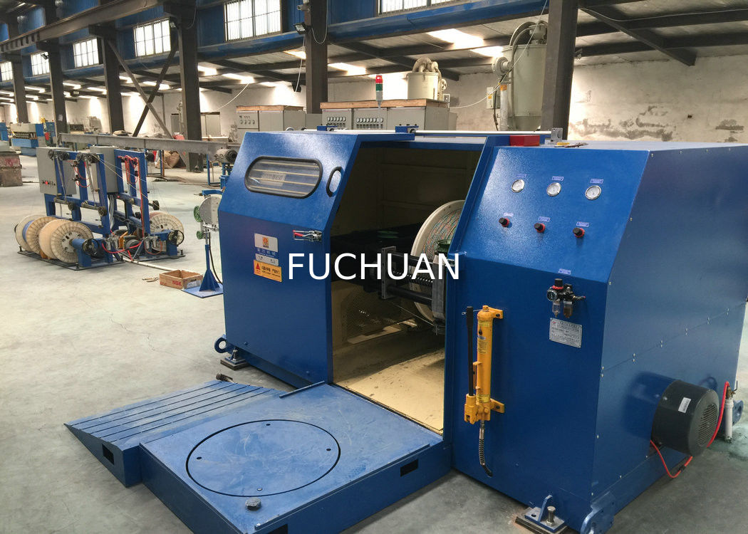 Fuchuan Copper Wire Frame Single Twist Machine with Cable Laying ...