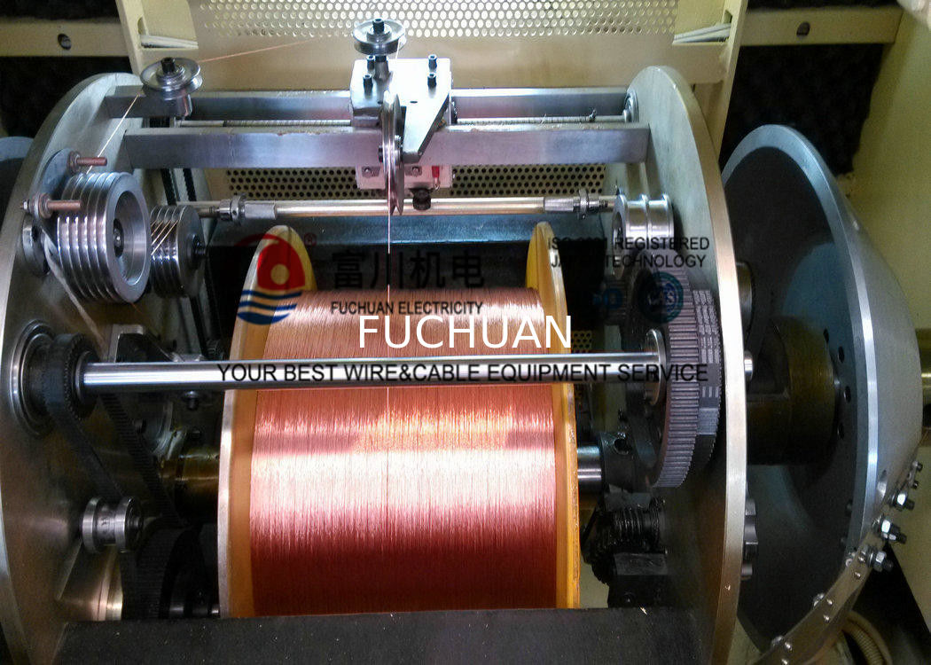 Medical Equipment / Aerospace Copper Wire Twisting Machine For 0.05 ...