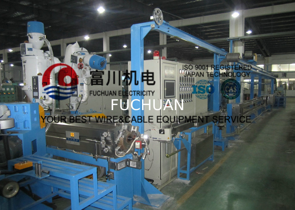 Automobile Wire / Plastic Insulating Wire Extrusion Machine With ...