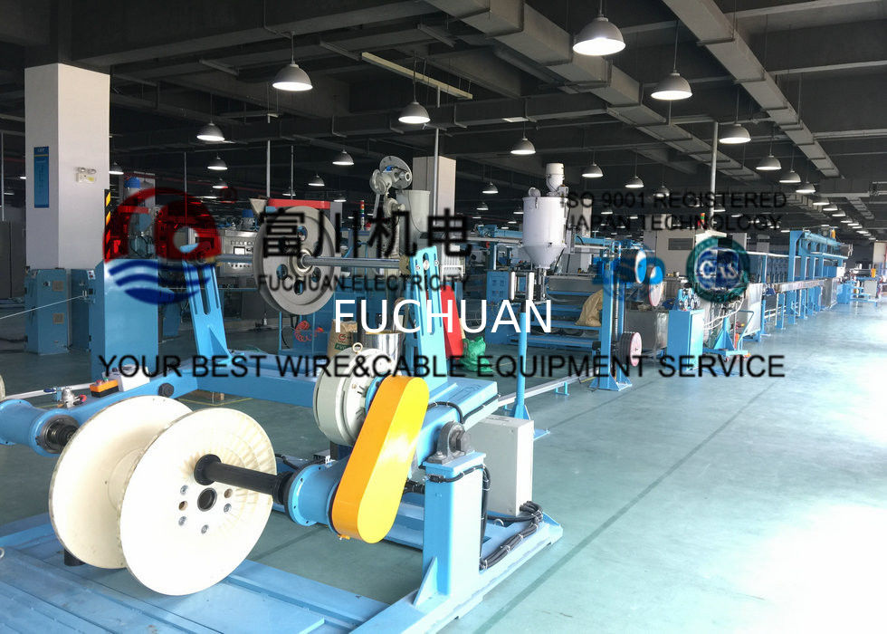 200m/min Wire Extruder Machine For Insulated Wire , Sheathing And ...